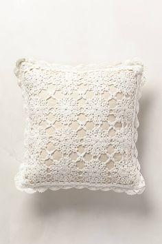 Istria Crocheted Pillow - anthropologie.com