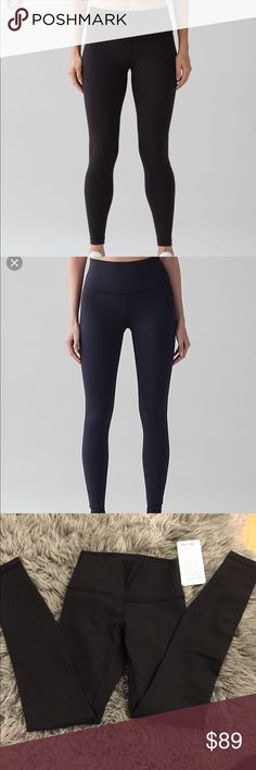 467053a764fc1 My Posh Closet · Lululemon athletics leggings wunder under NWT perfect  condition leggings. So comfortable lululemon athletica Pants Leggings