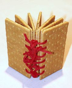 Edible book!  Might be a little time consuming!!