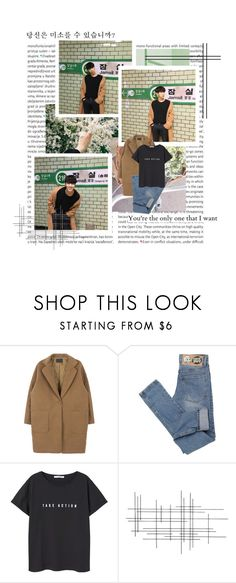 """you're the only one"" by ulzzangfashion ❤ liked on Polyvore featuring Oris, Cheap Monday, MANGO, Crate and Barrel, korean, Ulzzang and kfashion"