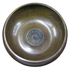 """6"""" Singing Bowl Gulpa Lotus 1 Image"""