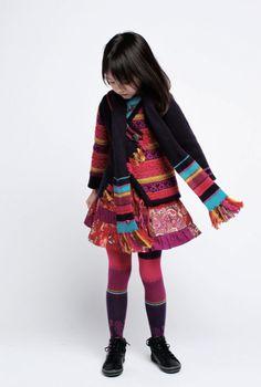 Kenzo Kids for Fall 2012 #kidsfashion #children's fashion