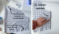 Kjole med pufærmer - Syguide | Maria Møller Sewing Clothes, Stitch Clothing