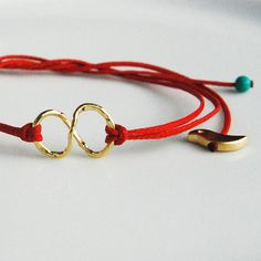 Free as a bird, forever - Infinity bracelet with cute bird charms $22.00