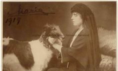 queen maria with dog of romania - Bing images History Of Romania, Romanian Royal Family, Russian Wolfhound, Gothic Horror, Medieval Castle, Dog Life, Old Photos, Animal Pictures, Royalty