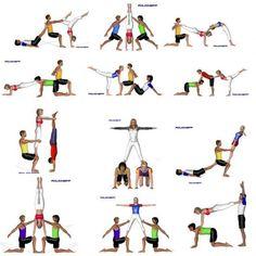 Billedresultat for acrosport Acro Yoga Poses, Bikram Yoga, Dance Poses, Kundalini Yoga, Yin Yoga, Yoga Meditation, Couple Yoga, Partner Yoga, Acro Danse