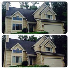 Best Certainteed Landmark Driftwood Shingle House Exterior 640 x 480