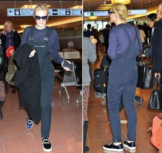 Cate Blanchett landed in Tokyo wearing particularly pricey overalls and slip-ons -- check out the crazy details here!