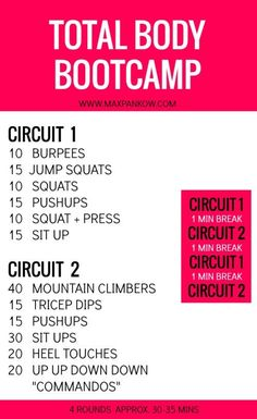 Total Body Bootcamp - Max Pankow
