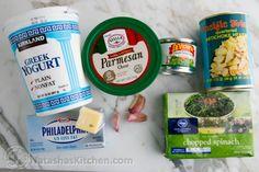 Skinny Spinach and Artichoke Dip-10