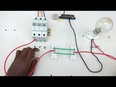 two way switch connection type 1 - Electrical videos in tamil ,two way switch wiring diagram Electrical Switch Wiring, 3 Way Switch Wiring, Electrical Layout, Electrical Wiring Diagram, Electrical Projects, Electronics Projects, 100 Watt Solar Panel, Solar Panels, Baby Tech