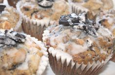 Oreo Double–Chip Muffins