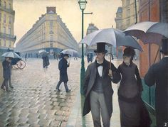 Gustave Caillebotte Paris Street rainy weather oil painting for sale; Select your favorite Gustave Caillebotte Paris Street rainy weather painting on canvas or frame at discount price. Monet, Google Art Project, Renoir, Paris Street Rainy Day, Maurice Utrillo, Georges Seurat, Rainy Weather, Rainy Days, Art History