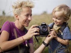 Fantastyczna, energetyczna Magda - fotografka i mama Aleksa i jej historia