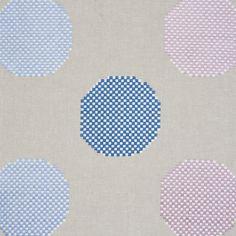 Satin Stitch, Scandinavian Modern, Schumacher, Fabric Samples, Lilac, Polka Dots, Delicate, Textiles, Kids Rugs