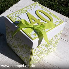 Balloon Box, Stampin Up Karten, Exploding Boxes, Punch Board, Handmade Decorations, Stamping Up, Box Art, Tea Lights, Toy Chest