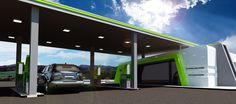 My New MAX design for BP GAS STATION