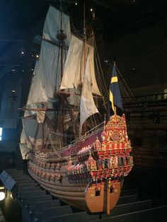 The Vasa Museum in Stockholm - an incredibly interesting museum with a…