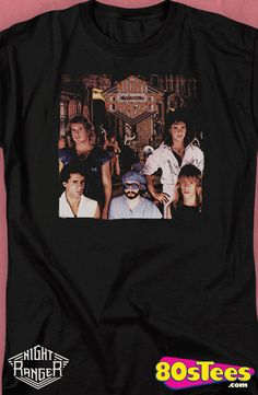 dba33f8c Night Ranger Midnight Madness T-Shirt: Night Ranger Mens T-Shirt Night  Ranger Geeks: Every day can be special wearing this cool design with great  art and ...