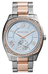Michael Kors 'Bryn' Crystal Bezel Bracelet Watch, 40mm