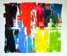 "Saatchi Art Artist Dominika Kaczmarczyk; Painting, ""RIO RIO "" #art"