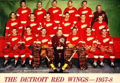 1957-58 Red Wings