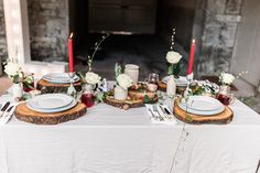 Winter wedding - Table layout