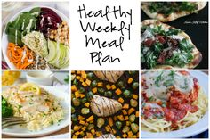 Healthy Weekly Meal Plan Collage 2.18