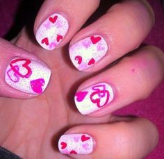 Valentine's Day Nails | Valentines day nails