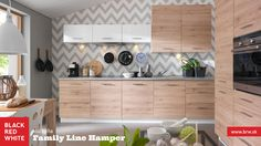 Kuchyňa na mieru Family Line, prevedenie Tafne od Black Red White. Navštívte naše kuchynské štúdiá.   #kuchyna #kitchen #home #family #interior #blackredwhite