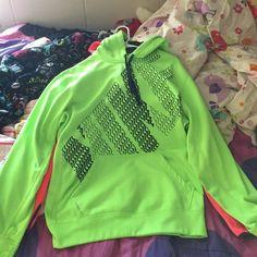 Nike Jacket Lime Green with a hood! Jackets & Coats