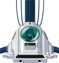 Goku - Medical Machine render by on DeviantArt Dragon Ball Z, Broly Movie, Super Movie, Kid Goku, Bandai Namco Entertainment, Dbz Characters, Superhero Design, Red Ribbon, Lego Star Wars