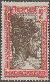Madagascar - D'n'D Stamps