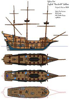Model Sailing Ships, Old Sailing Ships, Model Ships, Ship Map, Rpg Map, Pirate Art, Ship Drawing, Dungeon Maps, Dungeons And Dragons Homebrew