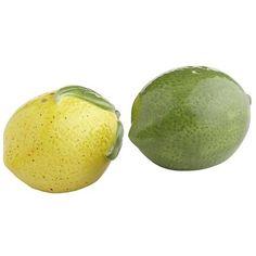 Lemon & Lime Salt & Pepper Shakers