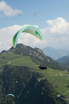 Unterberg Kössen Paragliding, Berg, Infinite, Freedom, Mountains, Nature, Travel, Liberty, Political Freedom