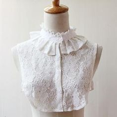 Buy '59 Seconds – Lace Decorative Collar' with Free International Shipping at YesStyle.com. Browse and shop for thousands of Asian fashion items from Hong Kong and more!