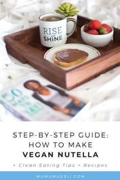 You'll love this quick and easy vegan nutella recipe! BONUS: the healthiest ways to eat it, as well as the health benefits of homemade nutella. Clean Eating Food List, Clean Eating Recipes, Vegan Recipes Beginner, Recipes For Beginners, Nutella Recipes, Fudge Recipes, Healthy Pancake Mix, Pancake Toppings, Fiber Foods List