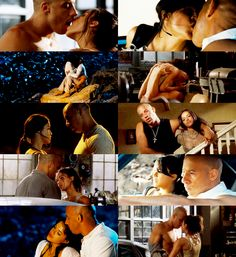 Dom & Letty Vin Diesel and Michelle Rodriguez. Letty Fast And Furious, Fast And Furious Actors, The Furious, Best Tv Couples, Movie Couples, Best Couple, Cute Couples, Movies Showing, Movies And Tv Shows