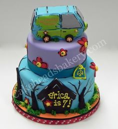 scooby doo birthday cake - Google Search
