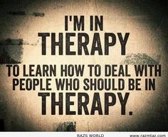 I'M IN THERAPY ... - http://www.razmtaz.com/im-therapy/