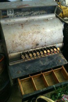 $299 - Antique National cash register #hip