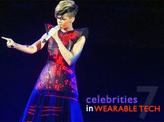 Celebrities who love wearable technology