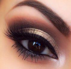 Eye make up Makeup Goals, Makeup Inspo, Makeup Inspiration, Makeup Tips, Makeup Ideas, Kiss Makeup, Cute Makeup, Pretty Makeup, Make Up Yeux