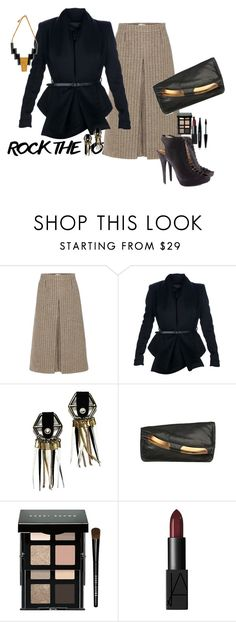 """""""Lt's do it with style!"""" by claire86-c on Polyvore featuring moda, Yves Saint Laurent, Burberry, Hayley Kruger, Jimmy Choo, Roberto Cavalli, Bobbi Brown Cosmetics, NARS Cosmetics e MAKE UP FOR EVER"""