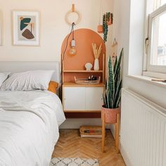 Painted arch ideas: the simple paint trend taking over Instagram Room Ideas Bedroom, Diy Bedroom Decor, New Room, Home Decor Inspiration, House Design, Decoration, Interior Design, Painted Headboard, Interiors