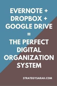The digital organization system that's currently working fantastic for me