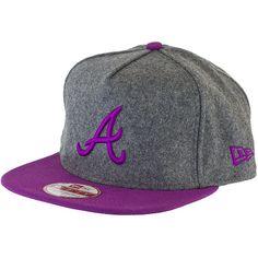 New Era 9FIFTY Snapback Cap DWR Melton Atlanta Braves ★★★★★