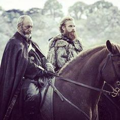 "Game of Thrones Season 6, Episode 9 ""Battle of The Bastards"" - Liam Cunningham as Davos Seaworth and Kristofer Hivju as Tormund Giantsbane"