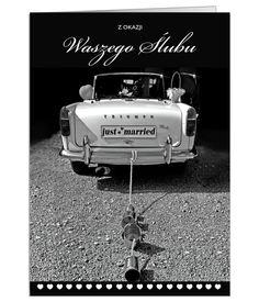 Kartka ślubna z możliwością redakcji tekstu